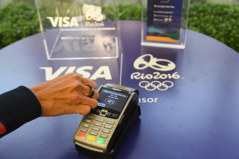 Visa with NFC Technology to Provide Athletes Advanced Payment Experiences to Enjoy the Games